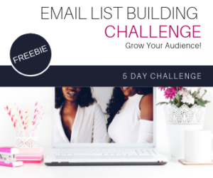 Email List Building Challenge