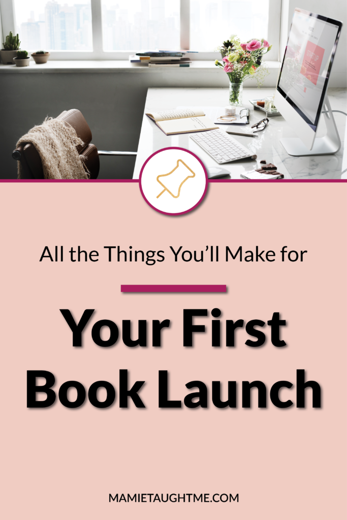 Your First Book Launch
